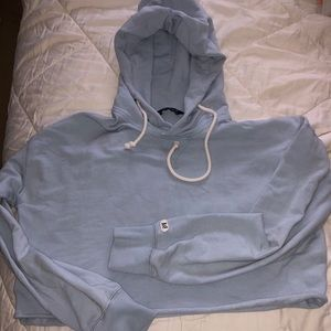 Abercrombie cropped hoodie!